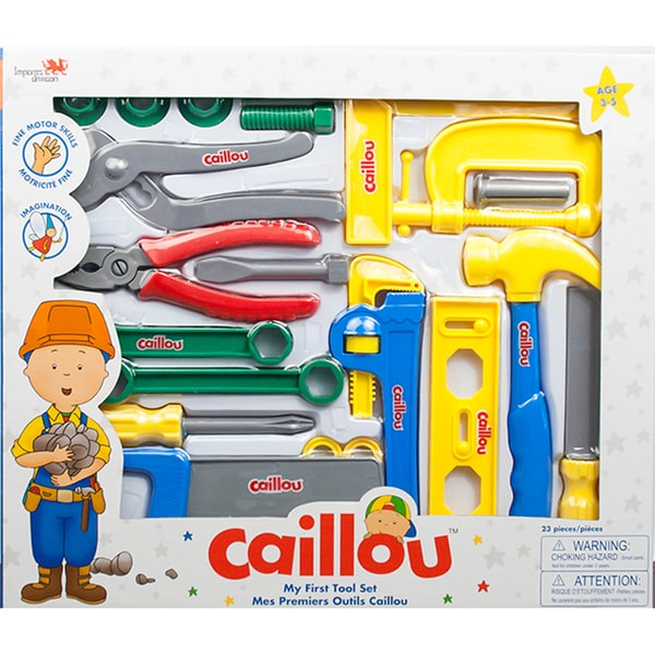 Caillou My First Tool Set