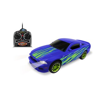 Gear'd Up 1:24 Scale Blue Ford Mustang GT RC