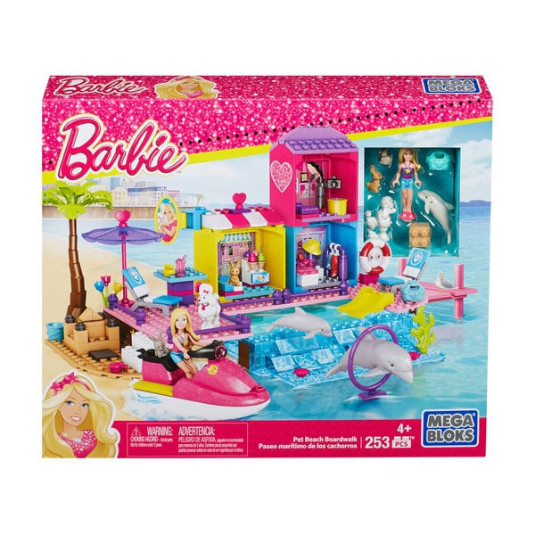 Mega Bloks Barbie Pet Beach Boardwalk 17765322