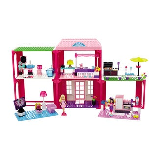 Mega Bloks Barbie Build 'n Play Fab Mansion