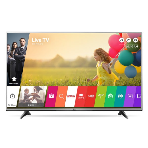 LG 55UH6150 55-inch Class 4K UHD LED Television with Smart TV 120HZ and WebOs