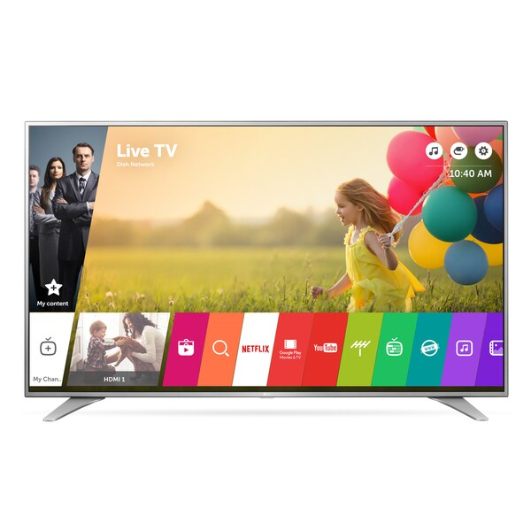 LG 55UH6550 55-inch Class 4K UHD LED Television with Smart Tv 120HZ and WebOs 17765401