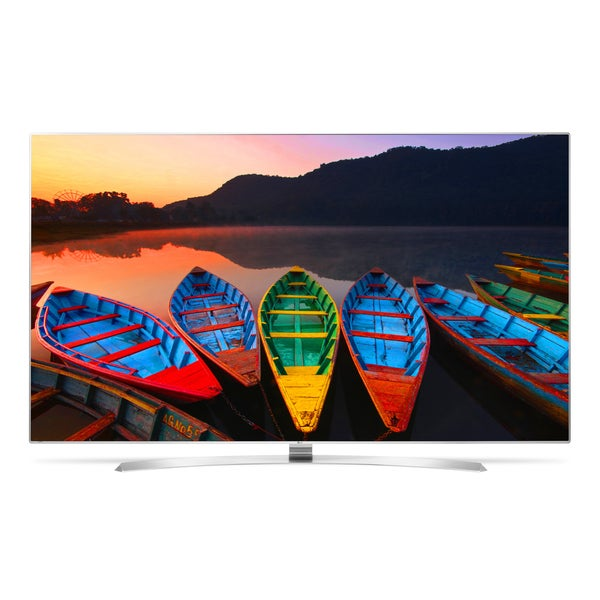"65UH9500 65"""" Class Energy Star Qualified Super UHD 4K Smart LED TV with IPS 4K Quantum Display  Wide Viewing Angle  Ultra Luminance  webOS 3.0  Magic Mobile"" 698981"