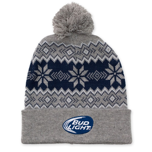 Bud Light Winter Pom Pom Beanie