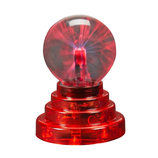 Warm Fuzzy Toys Red Plasma Ball