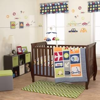 Belle BoysWorld 3-piece Crib Bedding Set