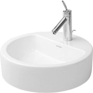 Duravit Starck Vessel Porcelain 18.90 18.90 Bathroom Sink 04464800001 White Alpin