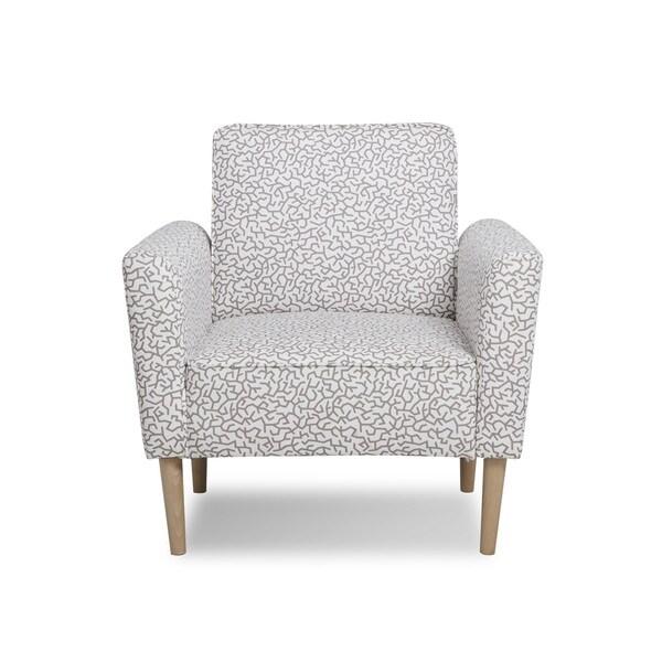 Mia Contemporary Fabric Accent Chair