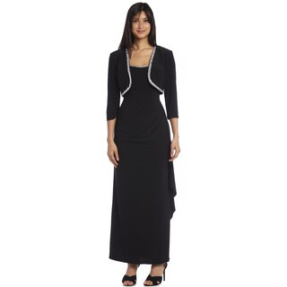 R&M Richards Long Jacket Dress