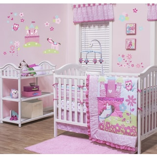 Belle Ever After 3-piece Crib Bedding Set