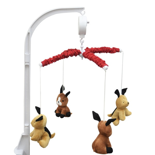 Belle Puppy Play Musical Mobile