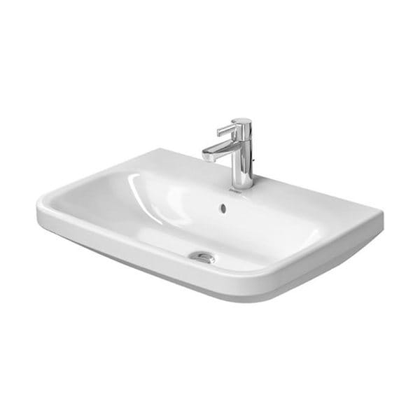 Duravit DuraStyle Wall-Mount Porcelain Bathroom Sink 2319550000 White ...