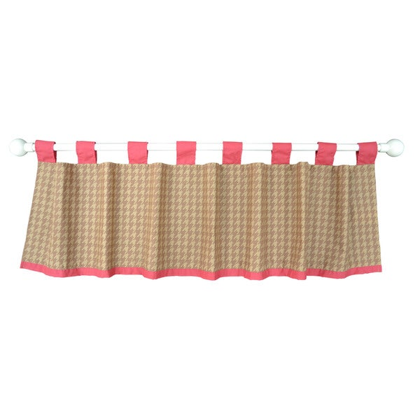 Belle Puppy Play Window Valance