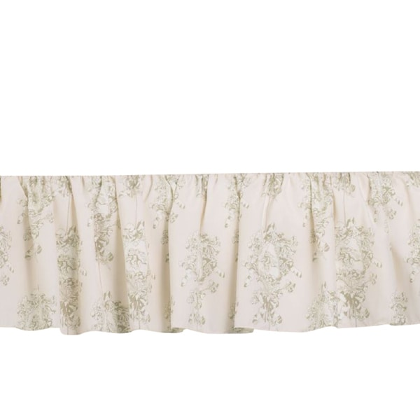Lollipops and Roses Bed Skirt