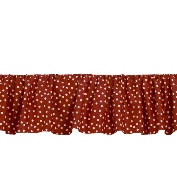Houndstooth Bed Skirt