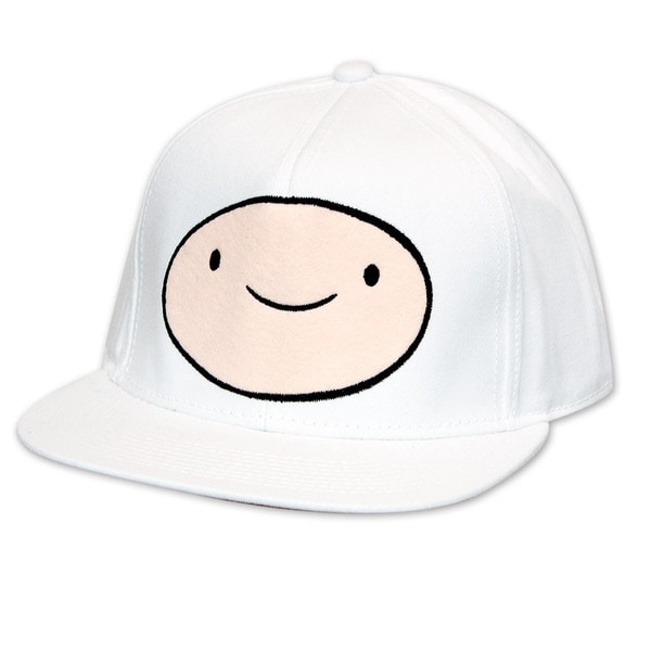 Adventure Time Finn White Cap