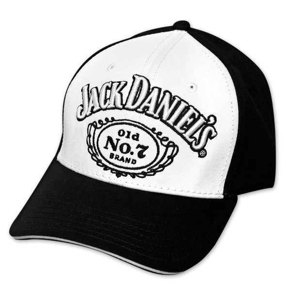 Jack Daniel's Black and White Hat