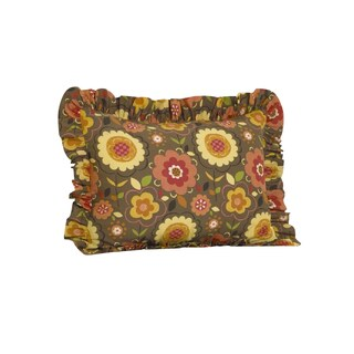 Peggy Sue Ruffled Pillow Sham