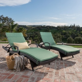 Vilano Outdoor Cushioned Lounge Chair (Set of 2) by Havenside Home