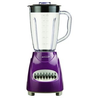 Brentwood JB-220PR Purple 1.5L 12-Speed Blender Plastic Jar