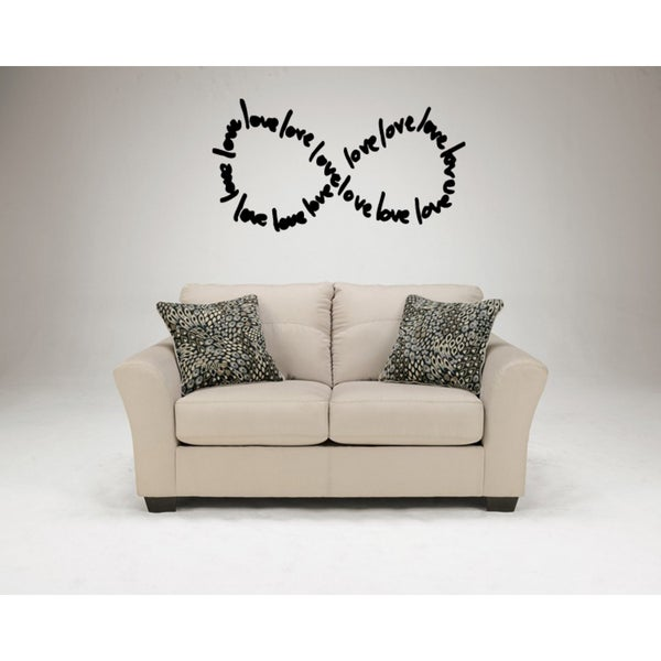 Love Love Love Wall Art Sticker Decal