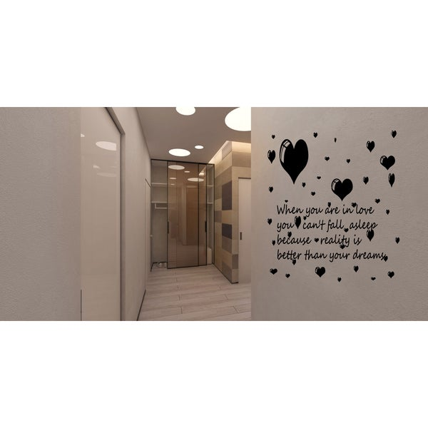 Never Doubt I Love Beautiful design Wall Art Sticker Decal