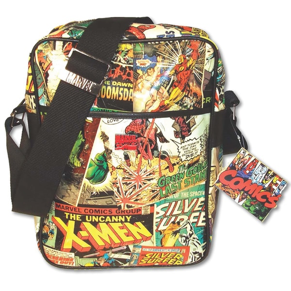 Marvel Comic Retro Flight Bag