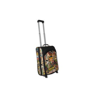 Marvel Comic Retro 20-inch Carry-on Upright Suitcase