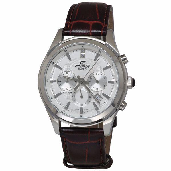 Casio Men's EFR517L-7A Edifice White Watch