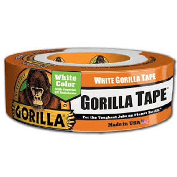 "Gorilla Tape 1.88"" x 30 yards White (gl6025001)"