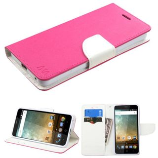 Insten Leather Case Cover with Stand/Wallet Flap Pouch for ZTE Prestige