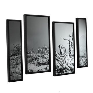 ArtWall Mark Ross's 'You Just Do' 4-piece Floater Framed Canvas Staggered Set