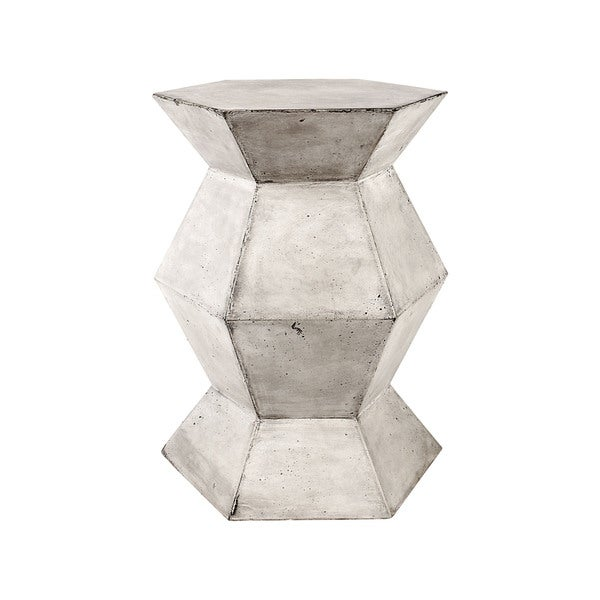Dimond Home Gusto Stool In Polished Concrete