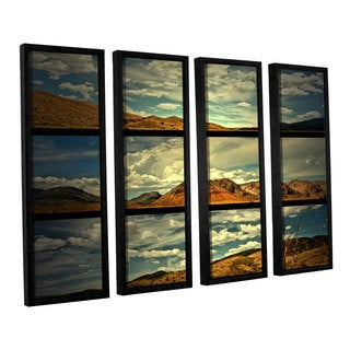 ArtWall Mark Ross's 'Saving Skys' 4-piece Floater Framed Canvas Set