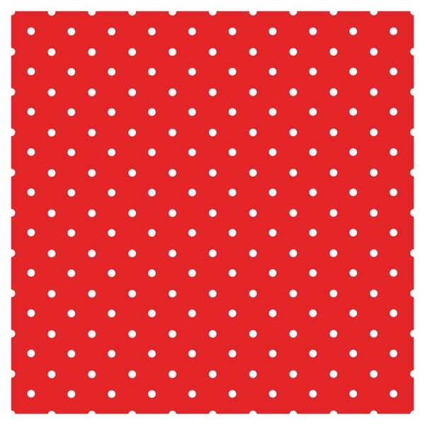 Polka-dot Red Navy Blue Vinyl Sheets Heat Transfer Vinyl