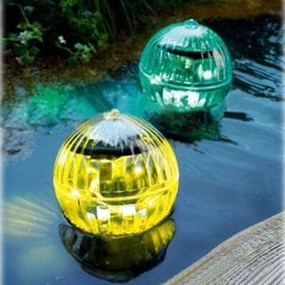 Solar LED Floating Lights - set of 2