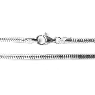 Queenberry Sterling Silver Snake Bracelet with Stoppers