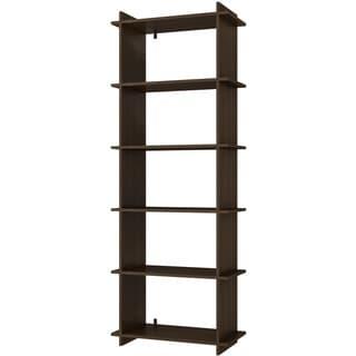 Accentuations by Manhattan Comfort Convenient Gisborne 5-shelf Bookcase 2.0