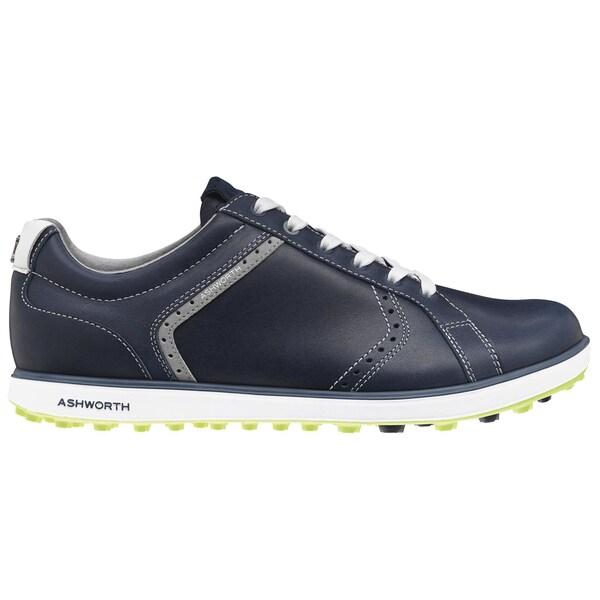 Ashworth Cardiff ADC 2 Golf Shoes 2015 Dark Denim/White/Vibrant Green