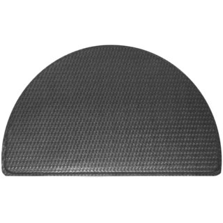 Memory Foam Half Circle Comfort Standing Mat (Black or Brown)