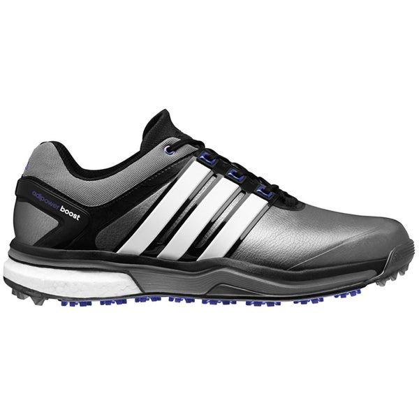 Adidas Adipower Boost Golf Shoes CLOSEOUT Silver/White/Night Flash