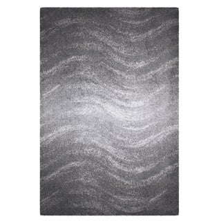 nuLOOM Contermporary Ombre Waves Grey Rug (2' x 3')