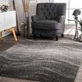 nuLOOM Contermporary Ombre Waves Grey Rug  (10' x 14')