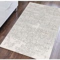 Hand-tufted Saint Thomas Iron Blended New Zealand Wool and Art Silk Rug (8' x 11')
