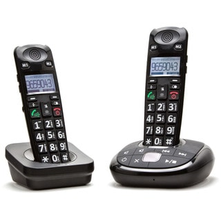 ClearSounds A700 DECT 6.0 Amplified Cordless Phone with Answering Machine and Additional Handset