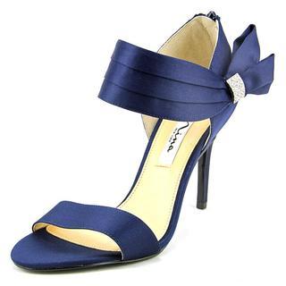 Nina Women's 'Cosmos' Blue Satin Dress Shoes