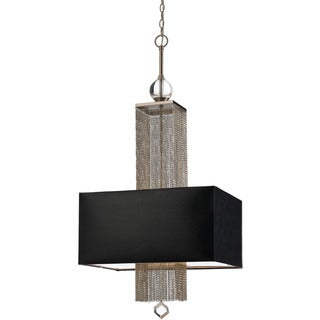 Candice Olson Black Shade 8446-3H Casby 3-light Pendant