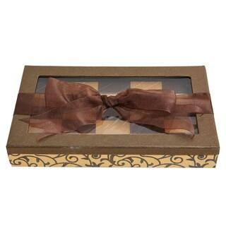 Chewy Addictive Peanut Confections Elegant Chocolate Gift Box