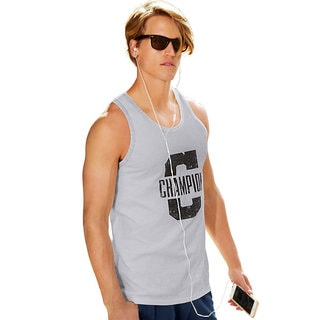 Champion Men's Jersey Ringer Graphic Tank