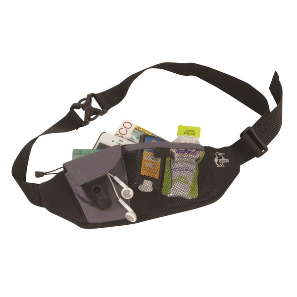 Chums Neo Pocket Waist Pack, Grey